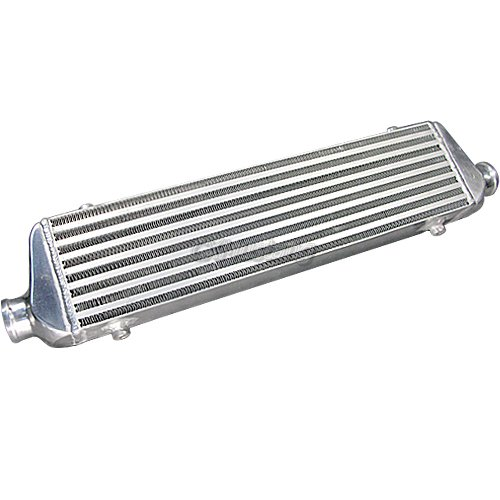 cxracing universal front mount turbo intercooler 28x5 5x2