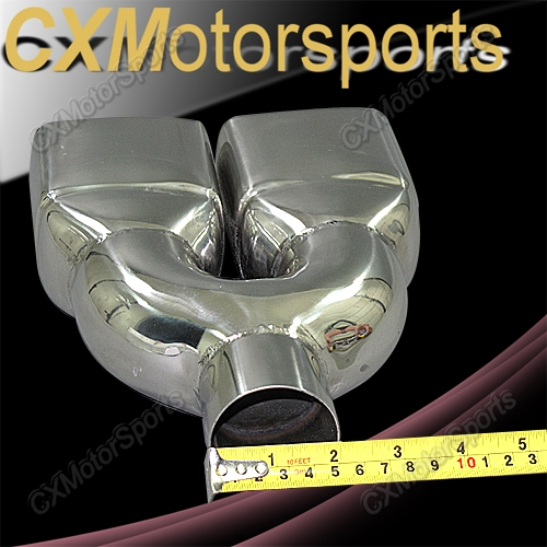 Stainless Steel Exhaust Oulet Tips / Tip Muffler Pipe