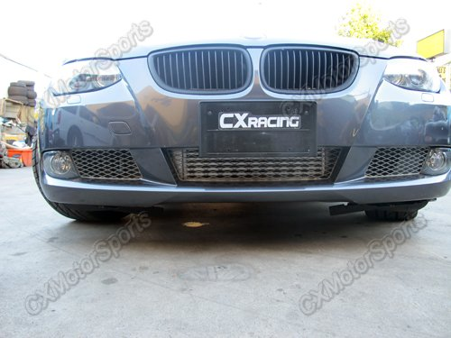 Cxracing alum front mount intercooler kit for 07 10 bmw for Ebay motors shipping cost