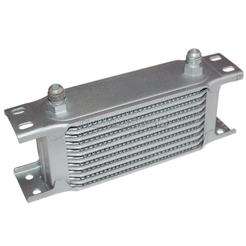 Automotive Oil Coolers : Cxracing universal row an aluminum transmission