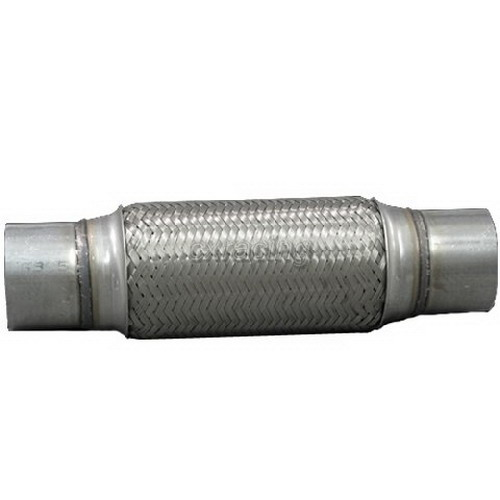 2 5 Flexible Exhaust Pipe : Quot overall stainless steel exhaust flex pipe