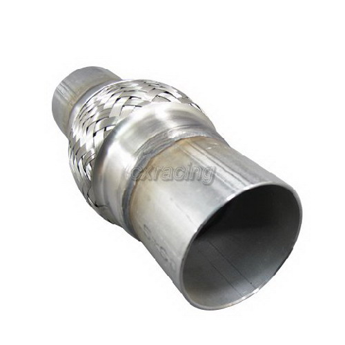 2 5 Flexible Exhaust Pipe : Overall quot stainless steel exhaust flex pipe ebay