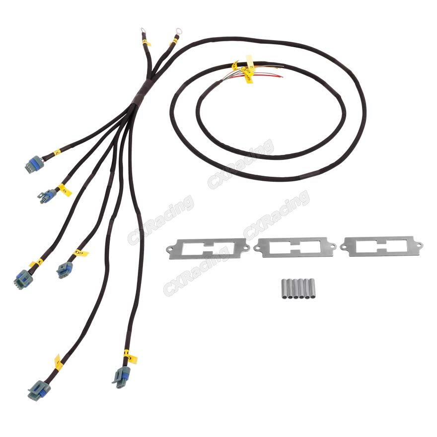 cxracing lq9 lq coil pack aluminum bracket wire harness
