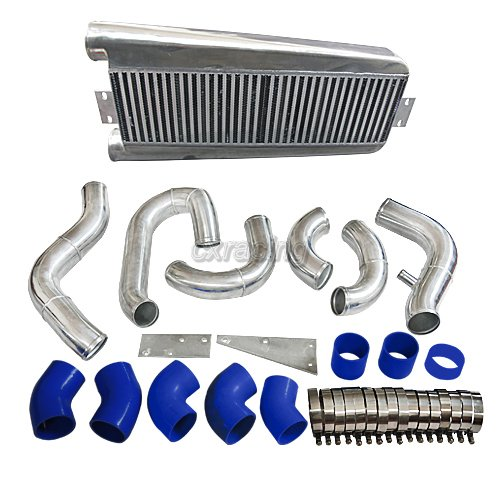 Vortech V3 Supercharger Intercooler: CXRacing Bolt On Intercooler Kit For 87-93 Mustang 5.0