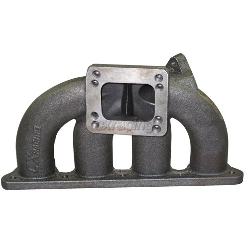 T3 T4 CAST IRON TURBO EXHAUST MANIFOLD For HONDA CIVIC D