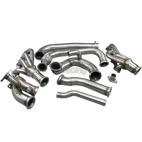 Turbo Manifold Header Kit For 97 02 Ls1 Lsx Camaro