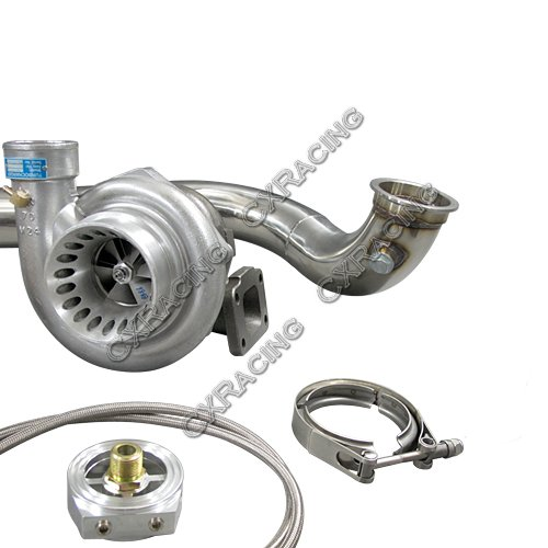 CXRacing Turbo Charger Kit For D15 D16 D-Series GT35 T4