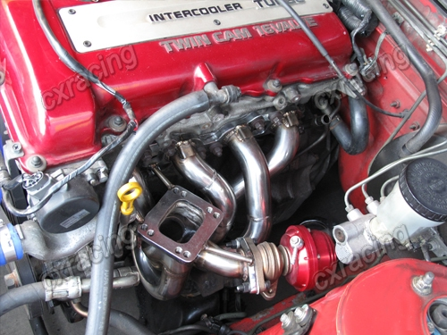how to install catch sr20det black top
