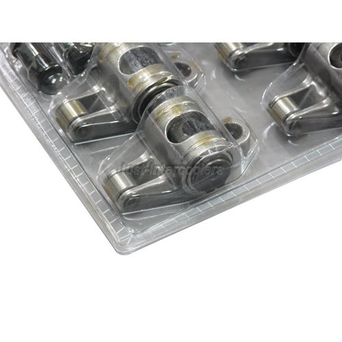 CXRacing SBC ROLLER ROCKERS STAINLESS 1.6 3/8 For CHEVY