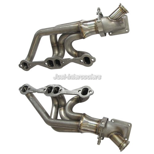 CX Twin Turbo Header Manifold + Elbow For 63-67 Chevrolet