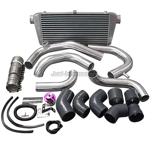 Docrace N54 Top Mount Single Turbo Kit: CX Bolt-on Intercooler Piping Kit For 240SX RB20 RB25DET