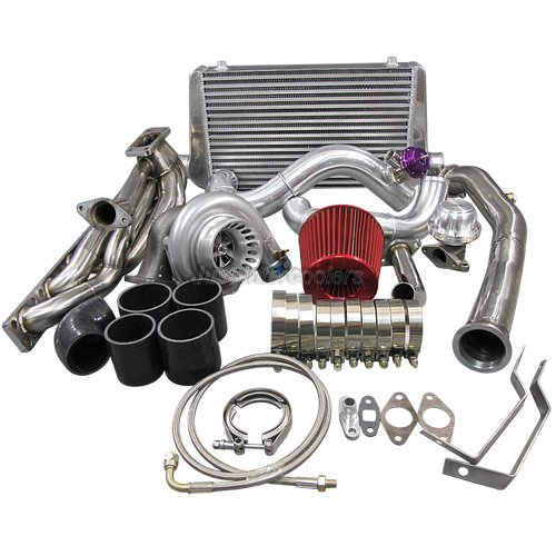 gt35 turbo kit manifold downpipe intercooler for 92 98 bmw. Black Bedroom Furniture Sets. Home Design Ideas