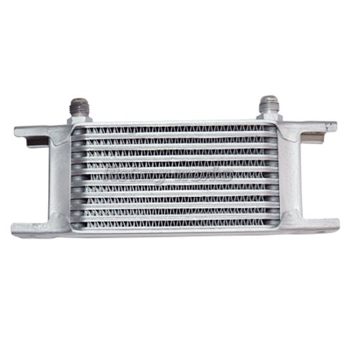 Engine Oil Cooler Works : Universal aluminum row an transmission engine