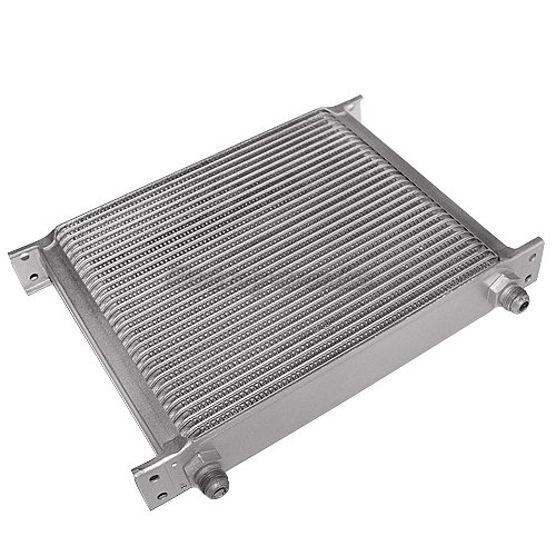 Engine Oil Cooler Works : Universal row an engine transmission oil cooler