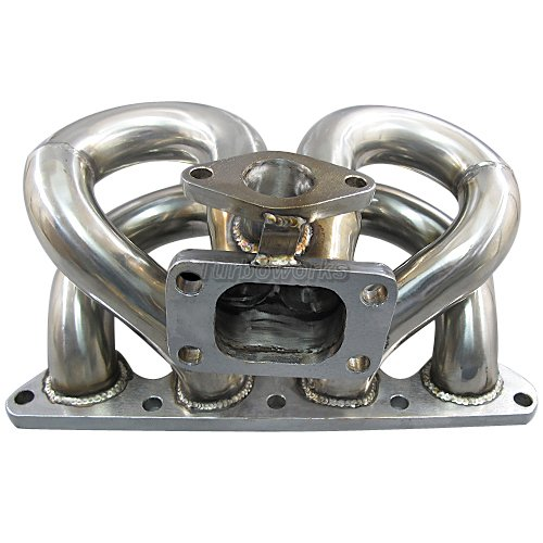 CXR T3 TURBO MANIFOLD For CIVIC DEL SOL EQUAL LENGTH D15