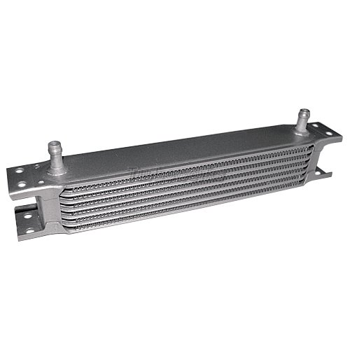 Engine Oil Cooler Works : Aluminum transmission engine universal oil cooler row