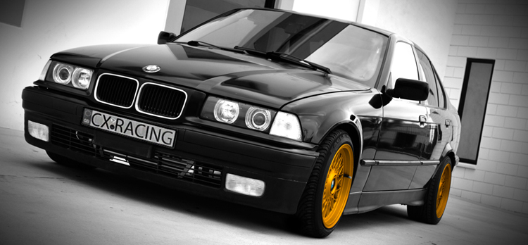 CXRacing Cold Air Intake Pipe For 92-98 BMW E36 325i 328i + Filter Blue  Hose CAI | eBay