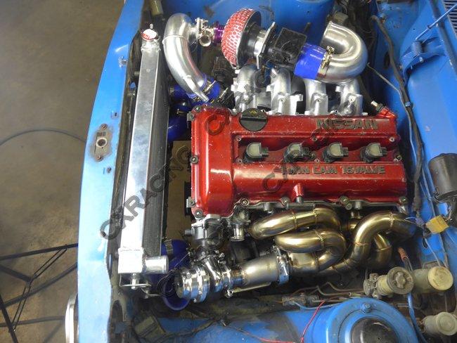 CXRacing Engine Mount Swap Kit For SR20DET Engine Datsun 510