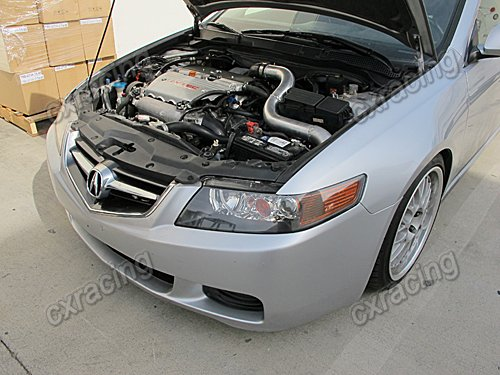CXRacing Turbo Kit For Acura TSX K TE Manifold Downpipe - Acura tsx turbo