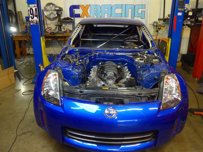 JS HD LS 350Z CAR 7 cxracing engine t56 transmission mounts for nissan 350z ls1 lsx 350z ls swap wiring harness at crackthecode.co