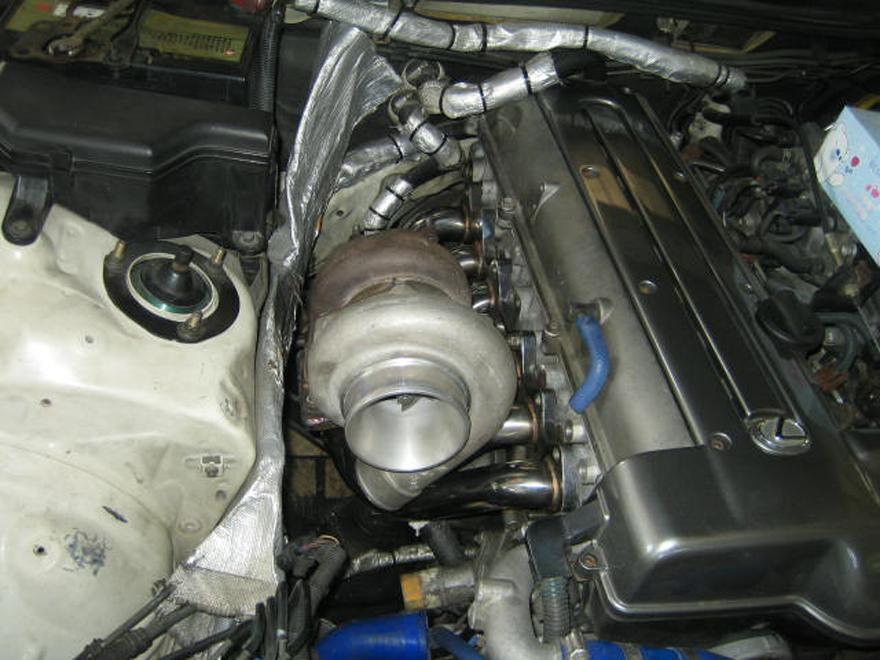 CXRacing T4 Manifold For 93-98 TOYOTA SUPRA 2JZGE None Turbo Stock Engine