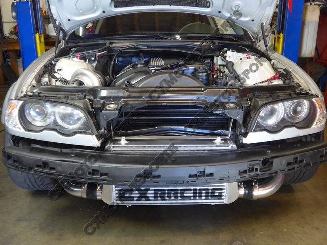 Cxracing Top Mount Turbo Manifold No Cut For Bmw E46 M52