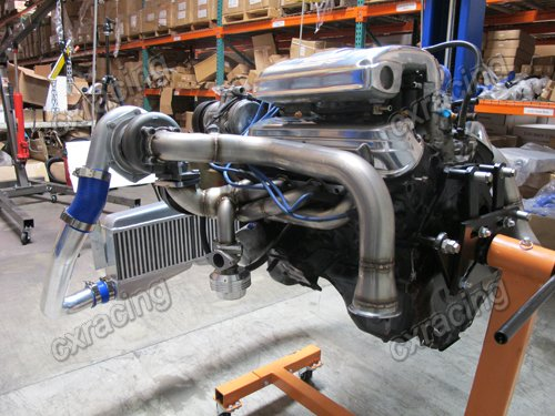 Details about CXRacing FMIC Twin Turbo Intercooler Kit For 79-93 Fox Body  Ford Mustang V8 5 0