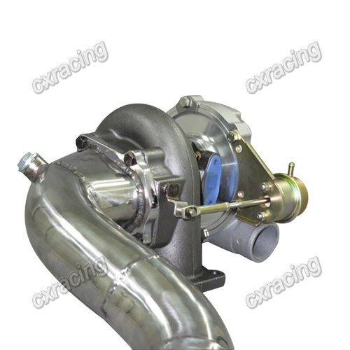 Turbo Manifold For 86-92 Supra 7MGTE Keep Oil Filter NEW
