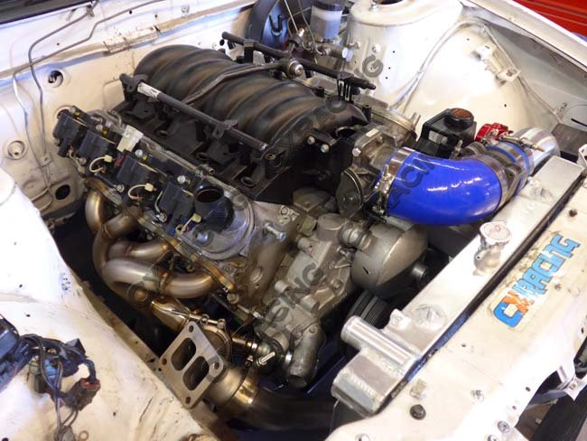 cxracing single turbo manifold header for s13 s14 ls1 lsx engine universal  | ebay