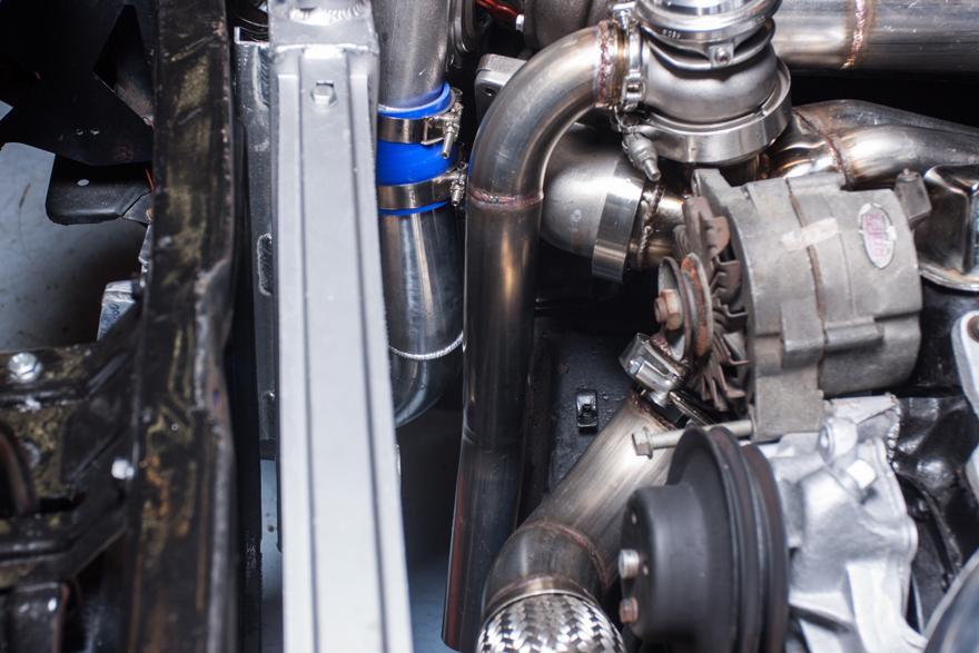 Cxracing Turbo Header Intercooler Piping Kit For 67 69