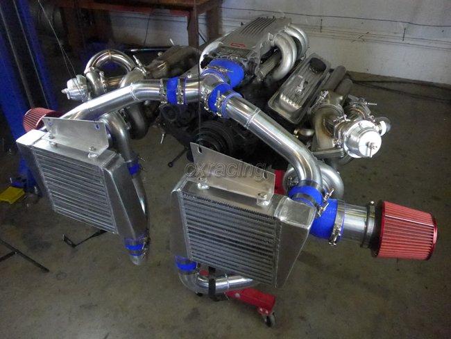 Cxracing Twin Turbo Kit For 63 67 Chevrolet Chevelle Nova