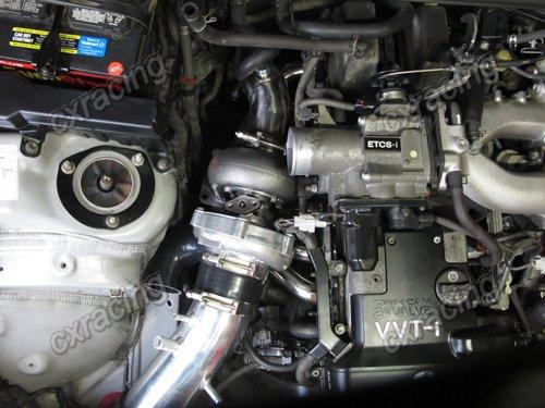 Details about CXRacing Top Mount T70 Turbo Kit For GS300 SC300 SUPRA 2JZGE  2JZ-GE Blue