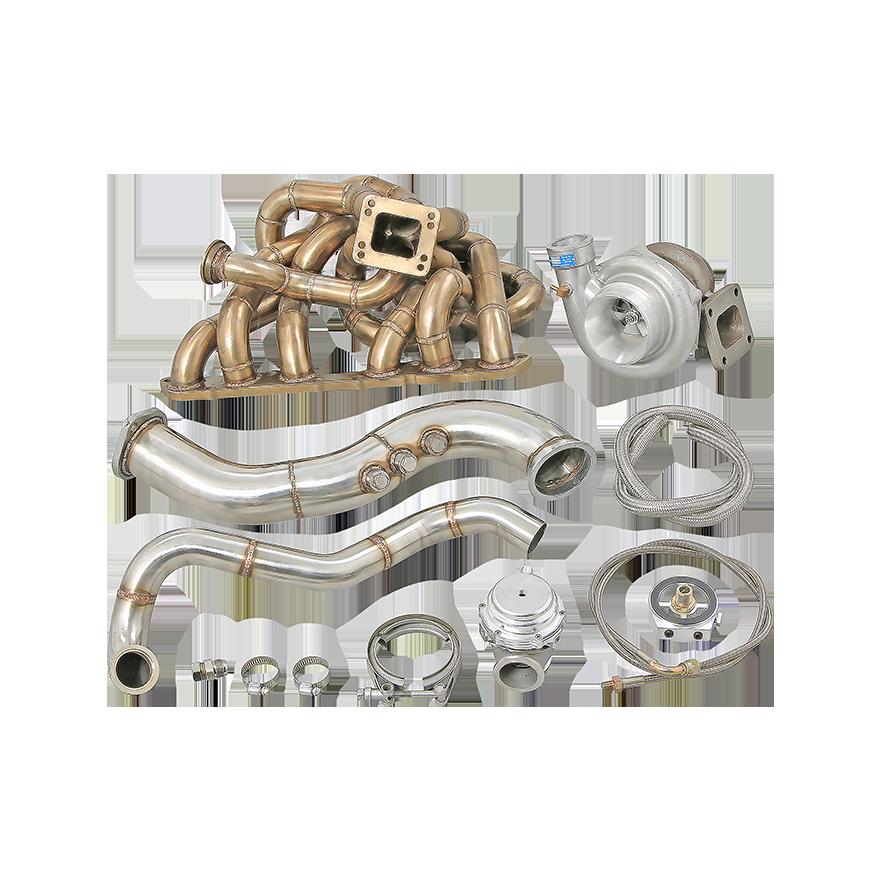 Cxracing Turbo Manifold Kit For 93 02 Toyota Supra Mk4 2jzge 2jz Ge Ebay