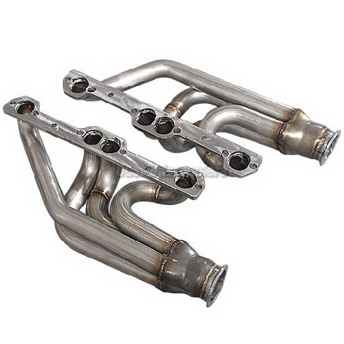 Cxracing Twin Single Turbo Header For Small Block SBC GM