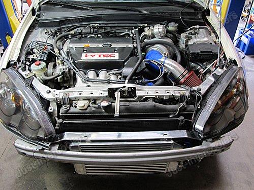 Air Intake Pipe Filter Kit Black Hose For Civic Integra DC - Acura rsx intake