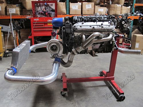 Lt1 turbo manifolds