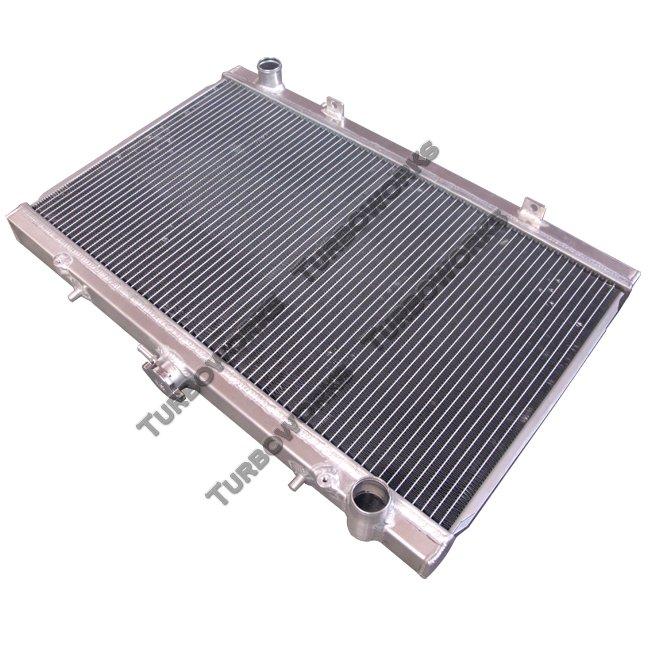 "CXRacing Aluminum Radiator For 89-94 240SX S13 SR20DET SR20 MT 1.38/"" Inlet"