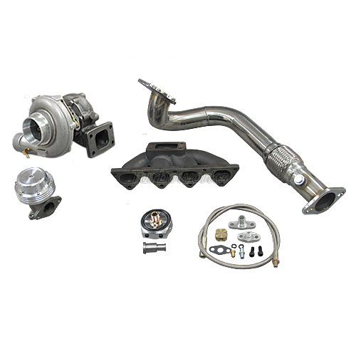 Turbo Manifold Downpipe Kit For 96 00 Civic Ek B16 B18